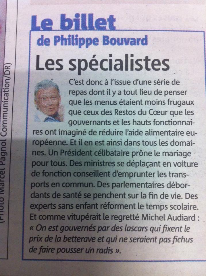 Un billet de Bouvard donne une analyse intéressante...