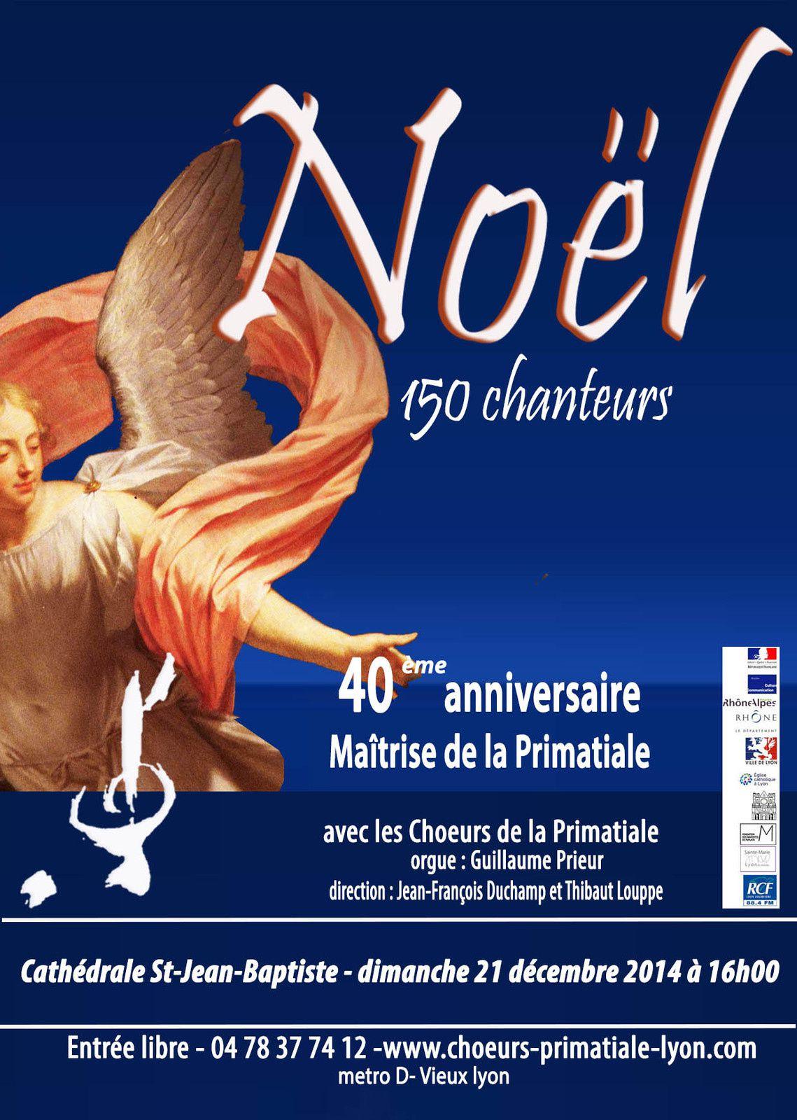 Concert de Noël : 40° anniversaire de la Maîtrise
