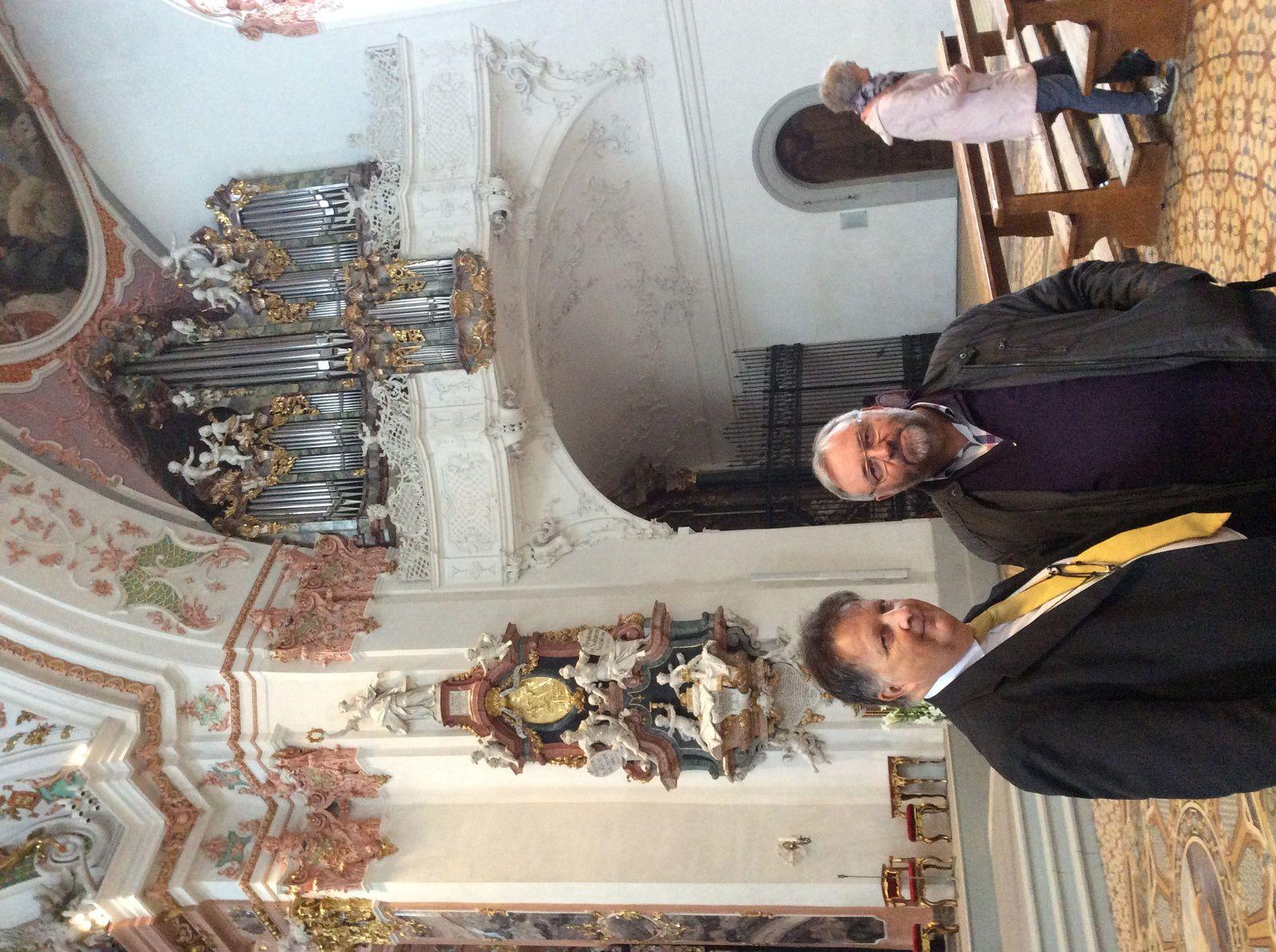 Avec mon ami italien Edoardo Hribar