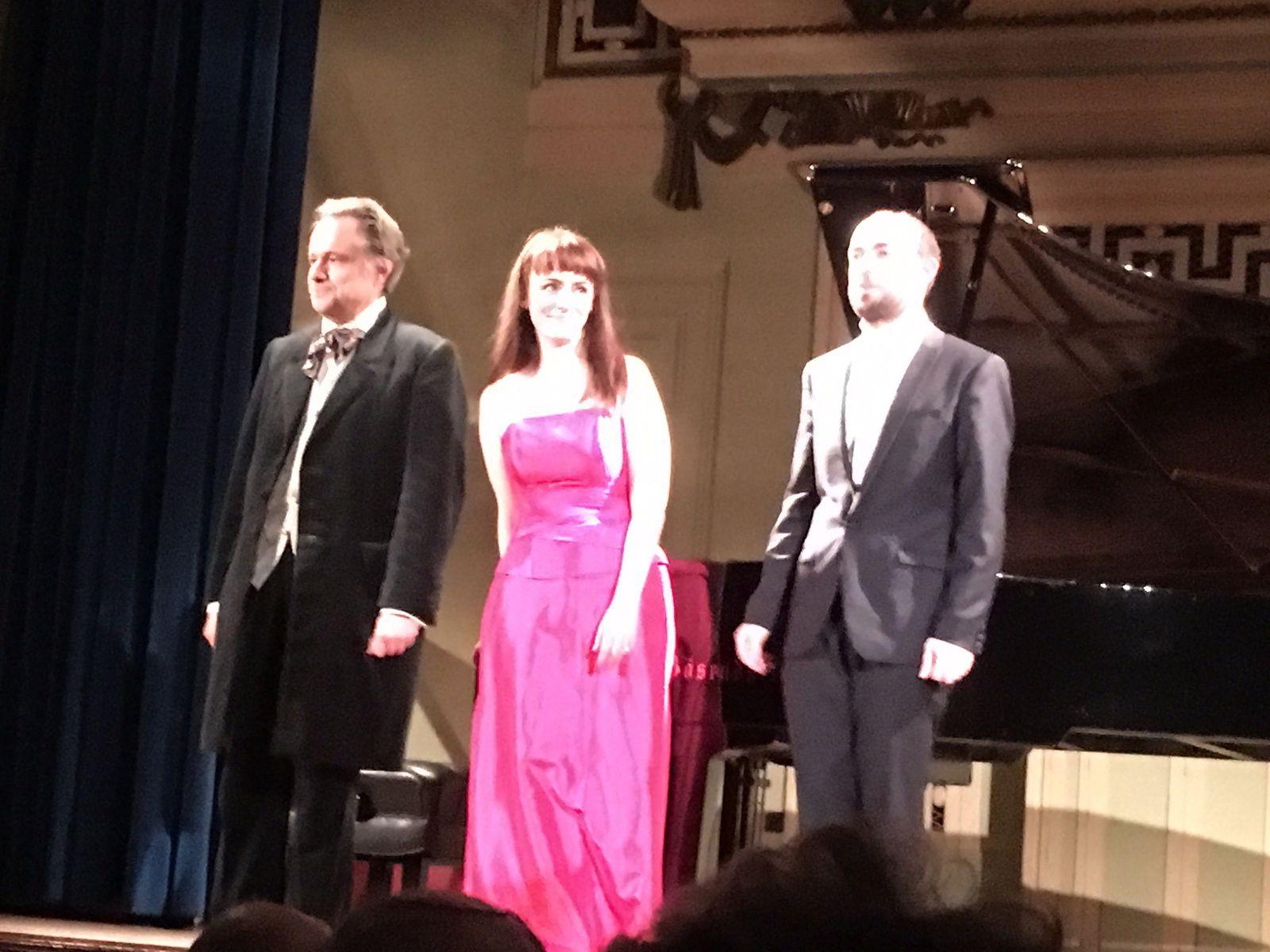 Concert Beethoven et Chopin  par François Dumont, piano. Salle Molière