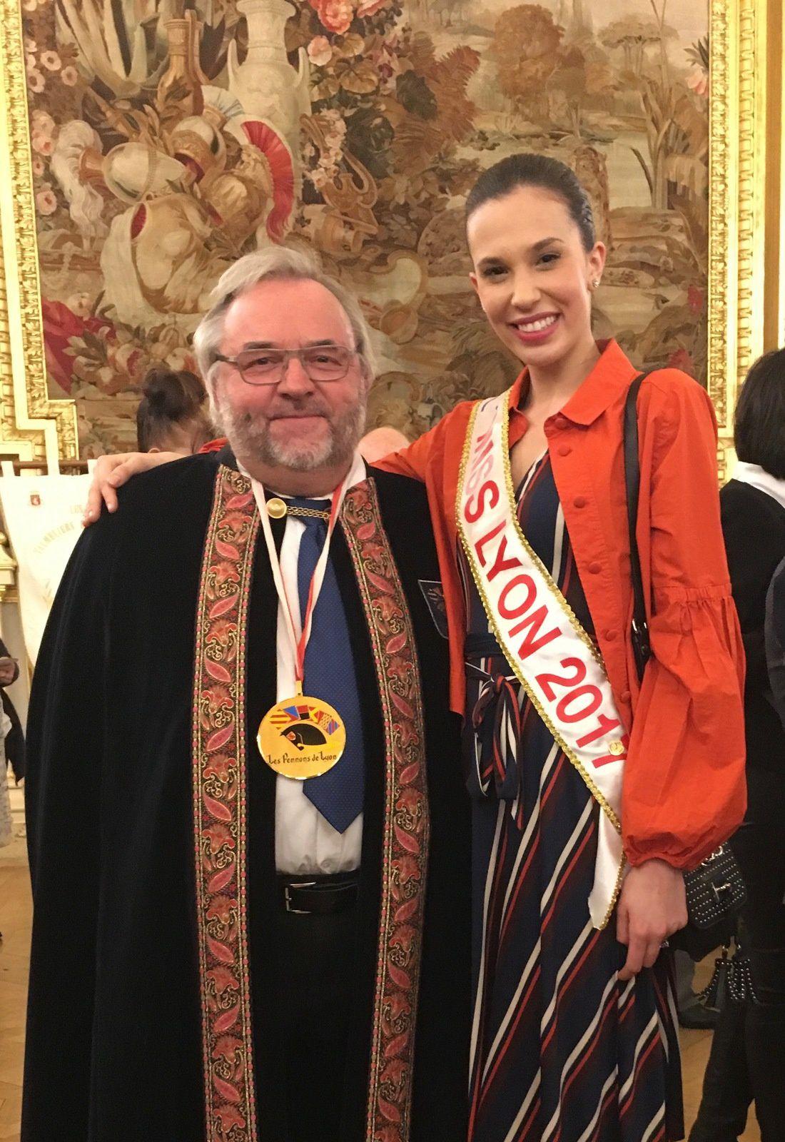 En bonne compagnie avec Miss Lyon 2017
