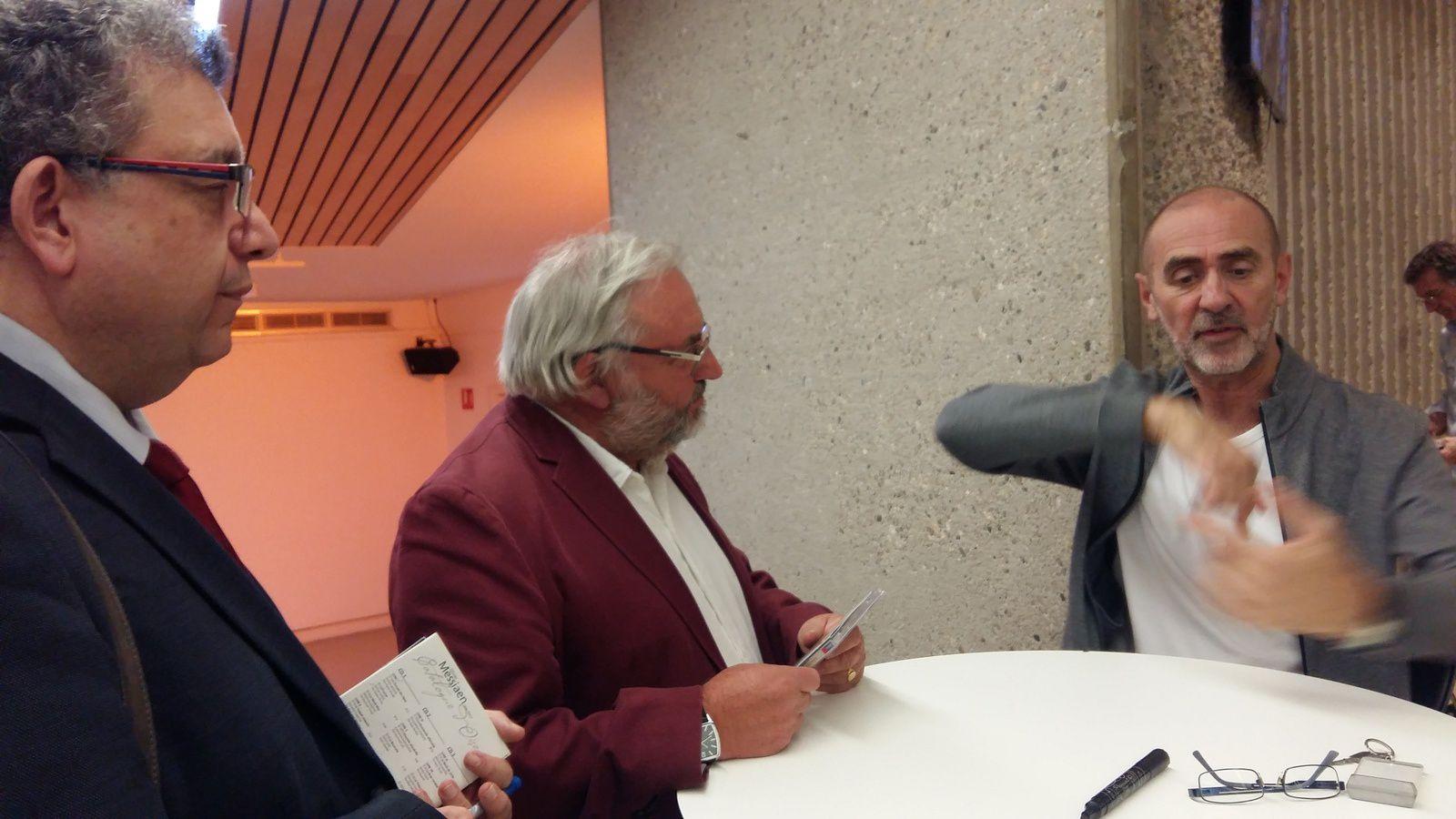 Roger Muraro au piano à l'Auditorium de Lyon