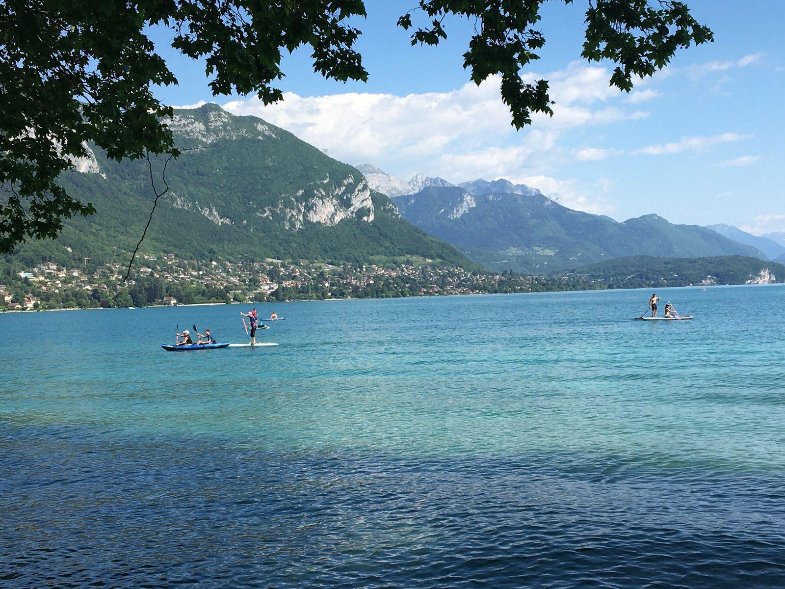 La lac d'Annecy (poème de Maurice Carême)
