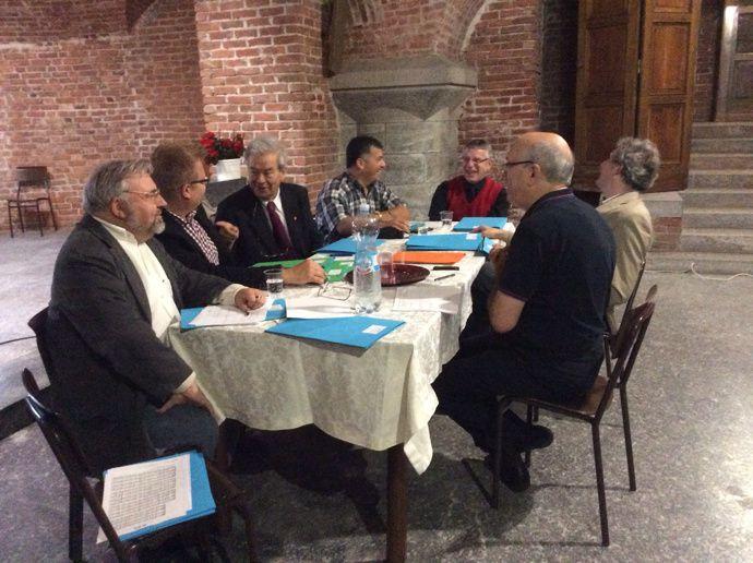 La Commission Artistique du 11ème Festival de Lecco (Italie)