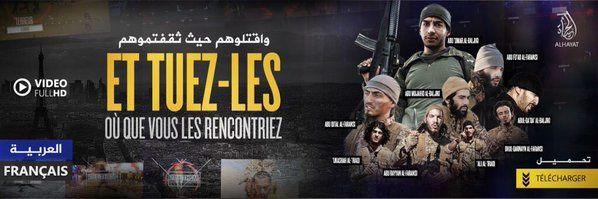 Daech (EI) diffuse une vidéo de glorification des attentats du 13 novembre