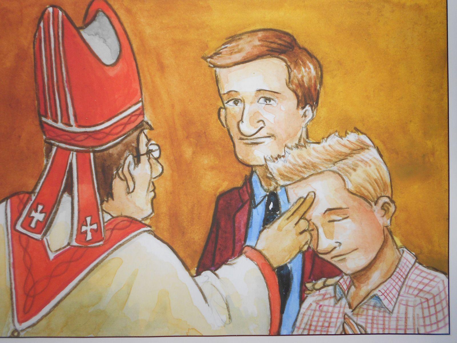 Les sacrements : les dons visibles de Dieu