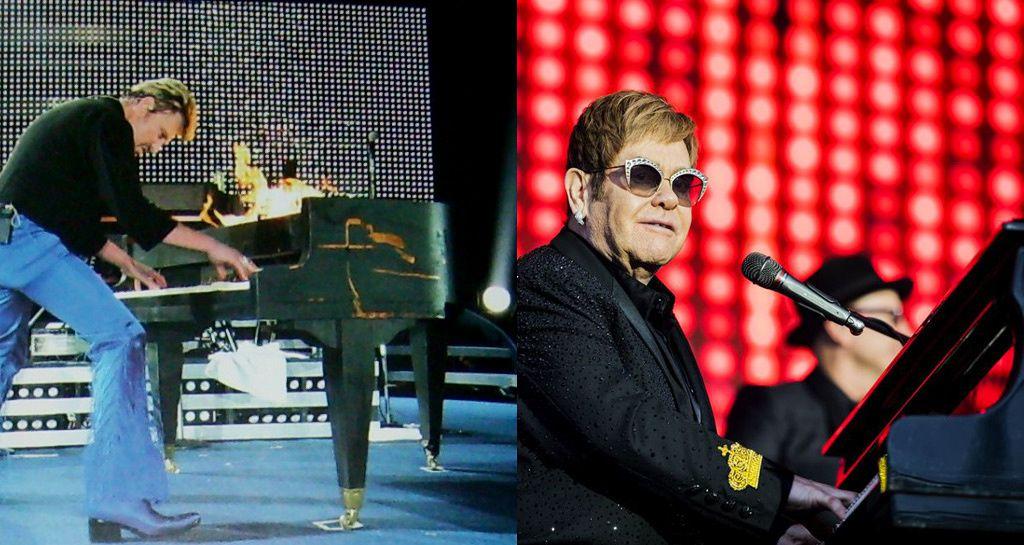Quelle est la différence entre Elton John et Johnny Hallyday ?
