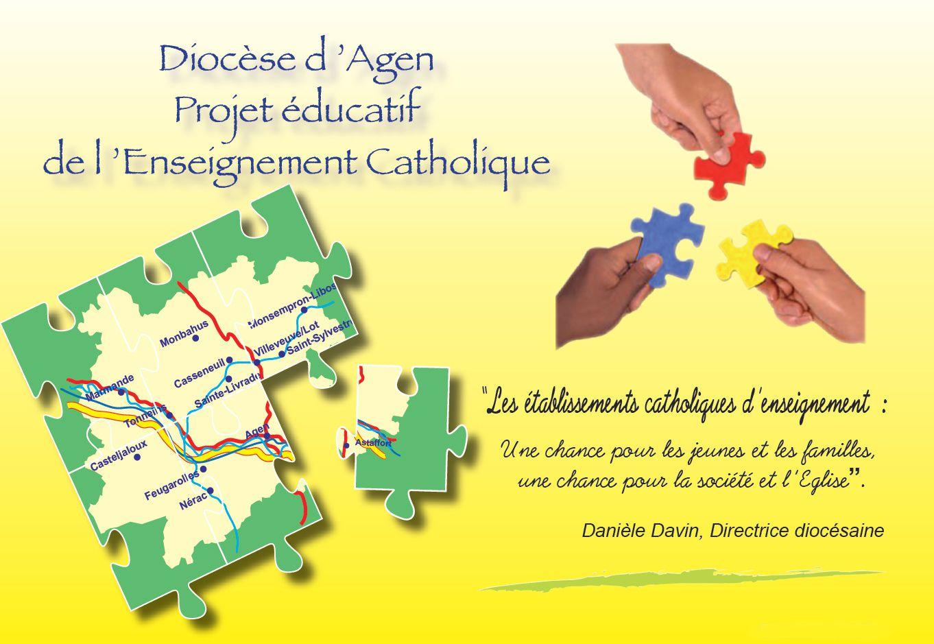 Diocèse d'Agen : Projet éducatif de l'Enseignement Catholique
