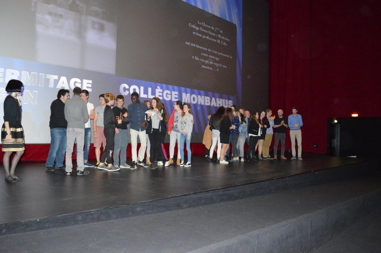 Quelques photos de la soirée à Cap'Cinéma Agen : Remise des Prix