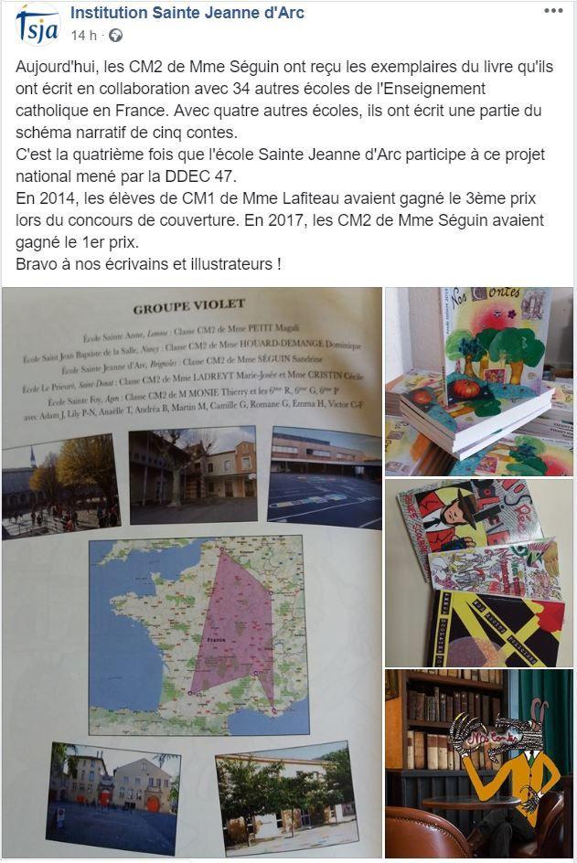 Ecole Sainte Jeanne d'Arc Brignoles en fête !