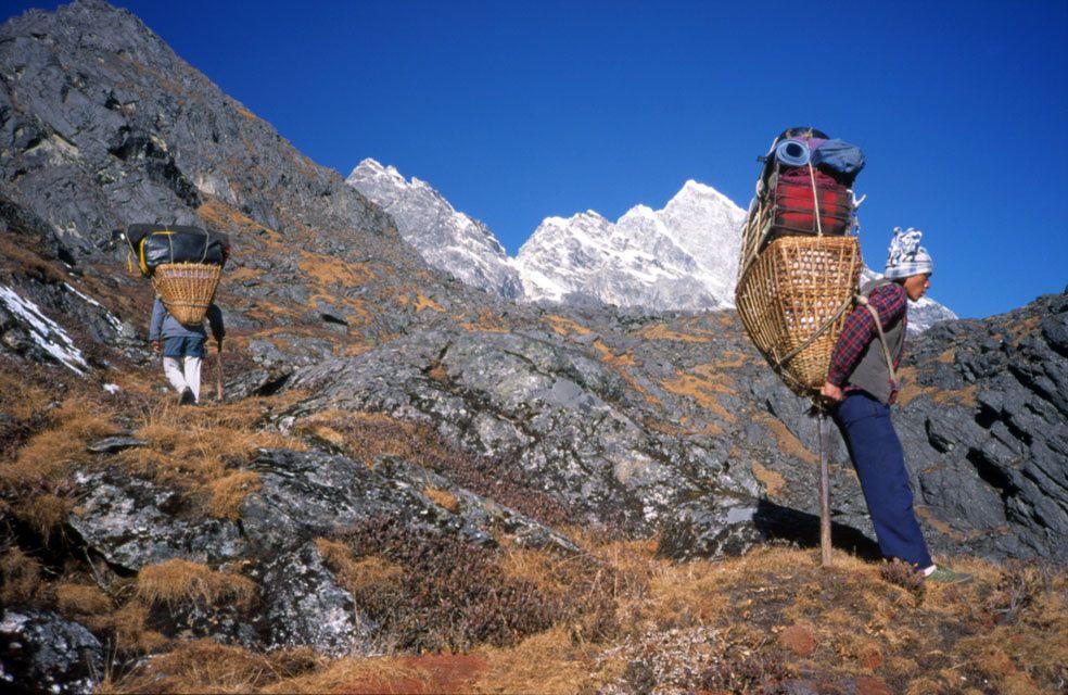 Ascension du Kwangde Nup - Tentative Kwangde Lho