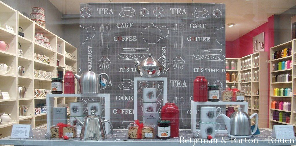 Tea time chez Betjeman & Barton Rouen