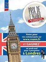Prix de l'accueil 2015 à Rouen