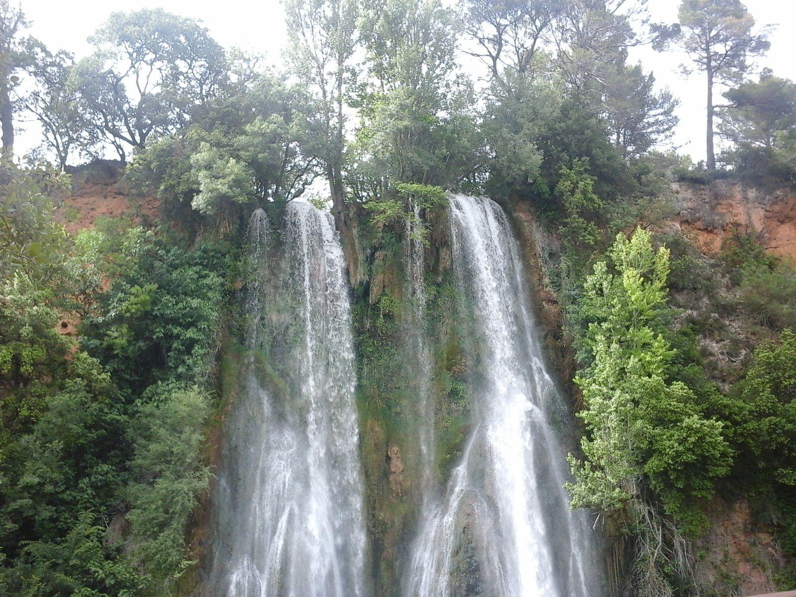 Parcours pour atteindre la cascade...