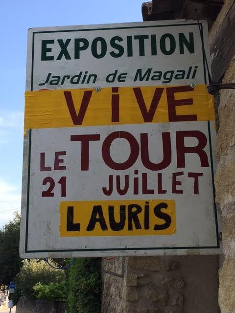 Tour de France à Lauris