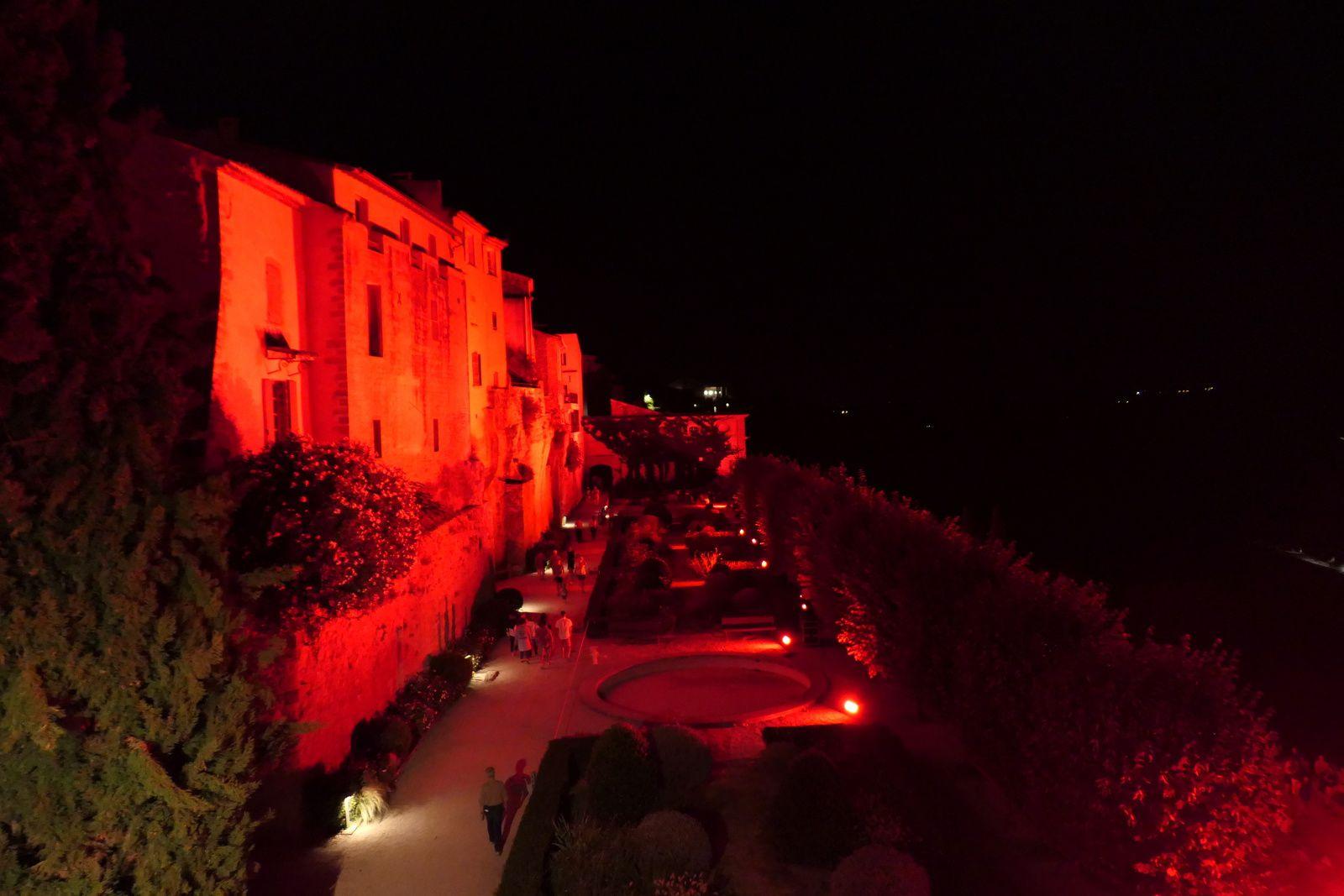 Illuminations du château de Lauris 2017