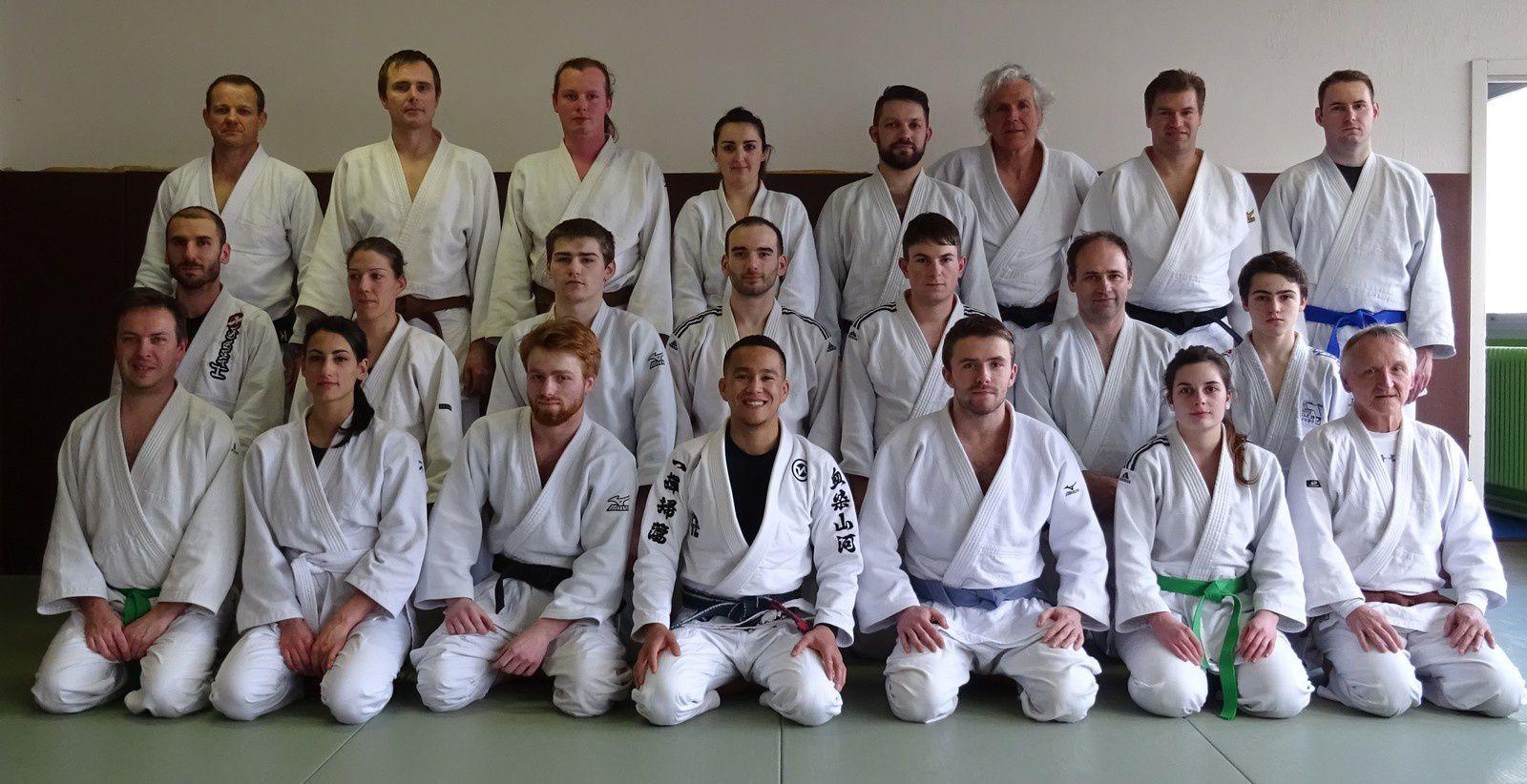 Jiu-Jitsu Brésilien avec Vincent Nguyen : Stage de Brest 2019