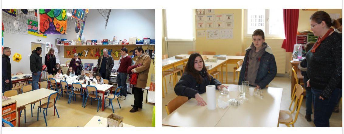 L'Ecole s'ouvre à la Science !