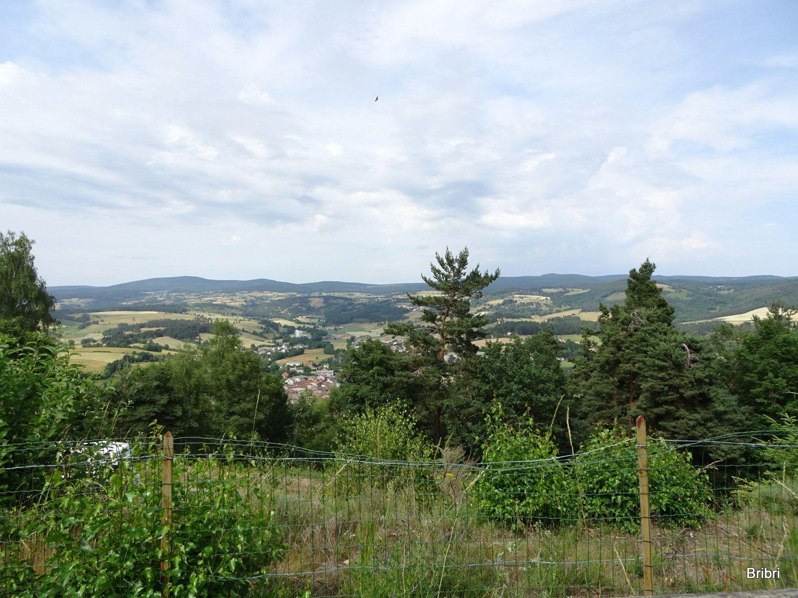Samedi nous faisons la marche des Fées, 7 km en 2h, avec 174 m de dénivelé et 27°.