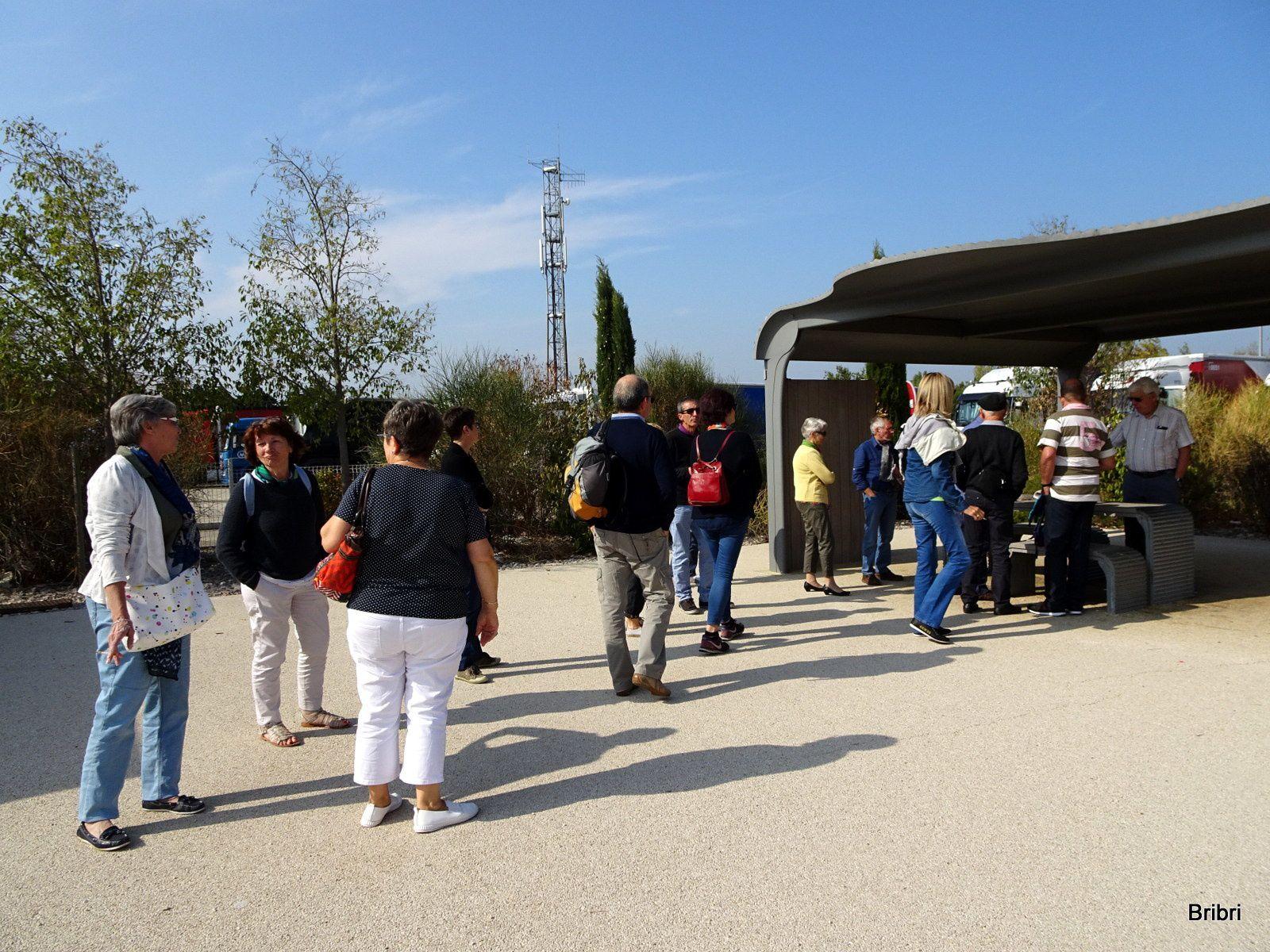 Changement de chauffeur à Valence et deuxième arrêt un peu plus tard.