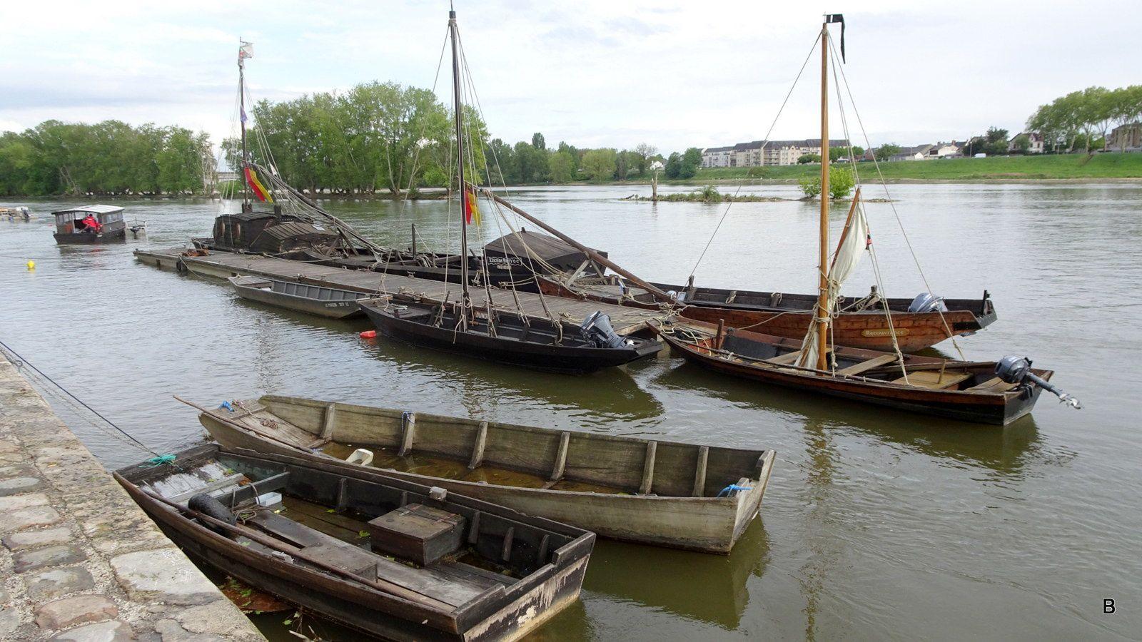 Les bords de Loire ou il fait bon se promener.