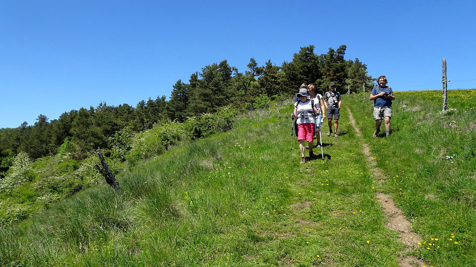 Rando entre amis(es) au Puy de Combegrasse.