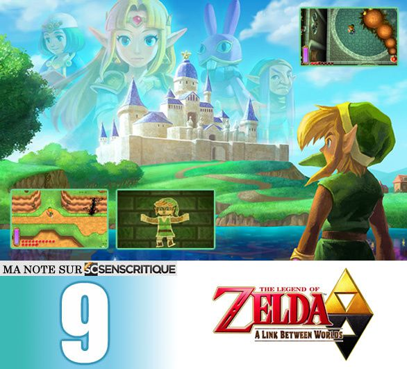 [Revue de test] THE LEGEND OF ZELDA, A Link Between Worlds