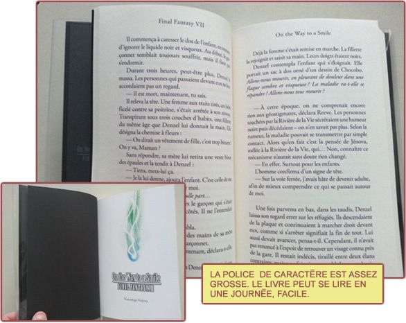ONE THE WAY TO A SMILE: Final Fantasy VII [Livre, Actu]