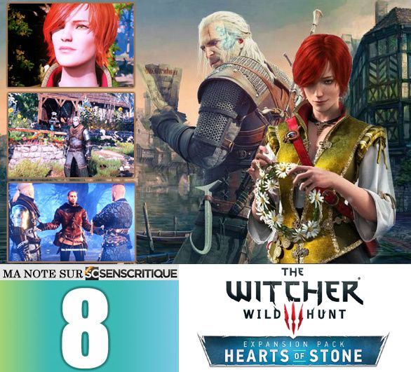 THE WITCHER III: Hearts of Stone [Test express]