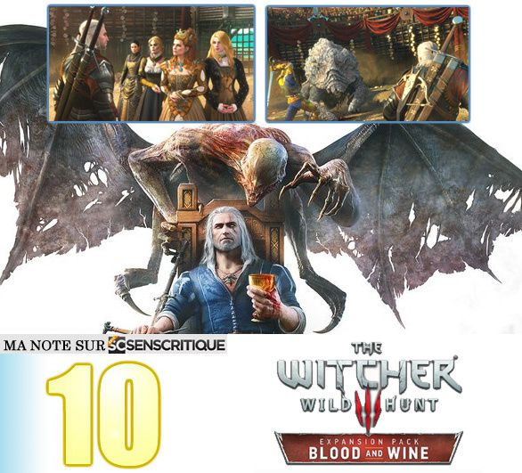THE WITCHER III: Blood and Wine [Test express]