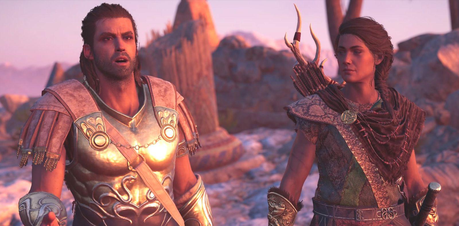 La relation entre Alexios et Kassandra promet beaucoup de surprises. A vous de décider de leur destin.