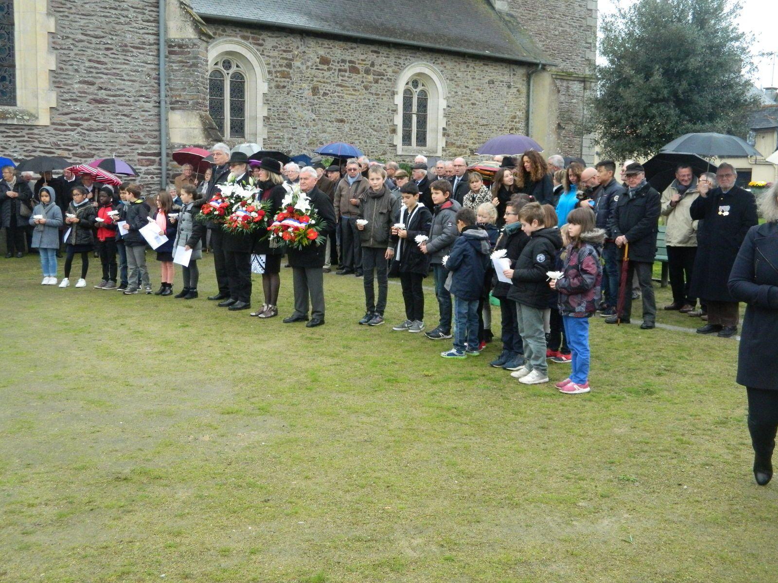 NOYAL CHATILLON SUR SEICHE, la commémoration de la victoire du 11 novembre 1918 a commencé dès le 10 novembre