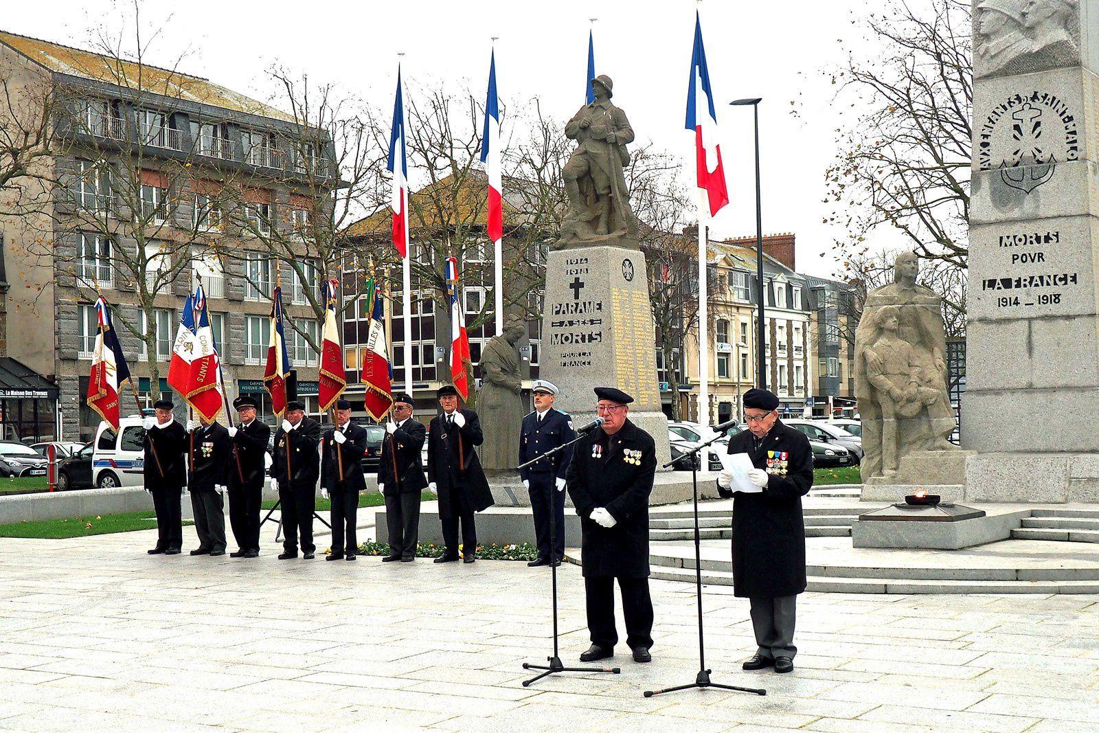 """05 décembre 2017, Ceremonie commemorative des combats d""""Algerie Tunisie et Maroc"""