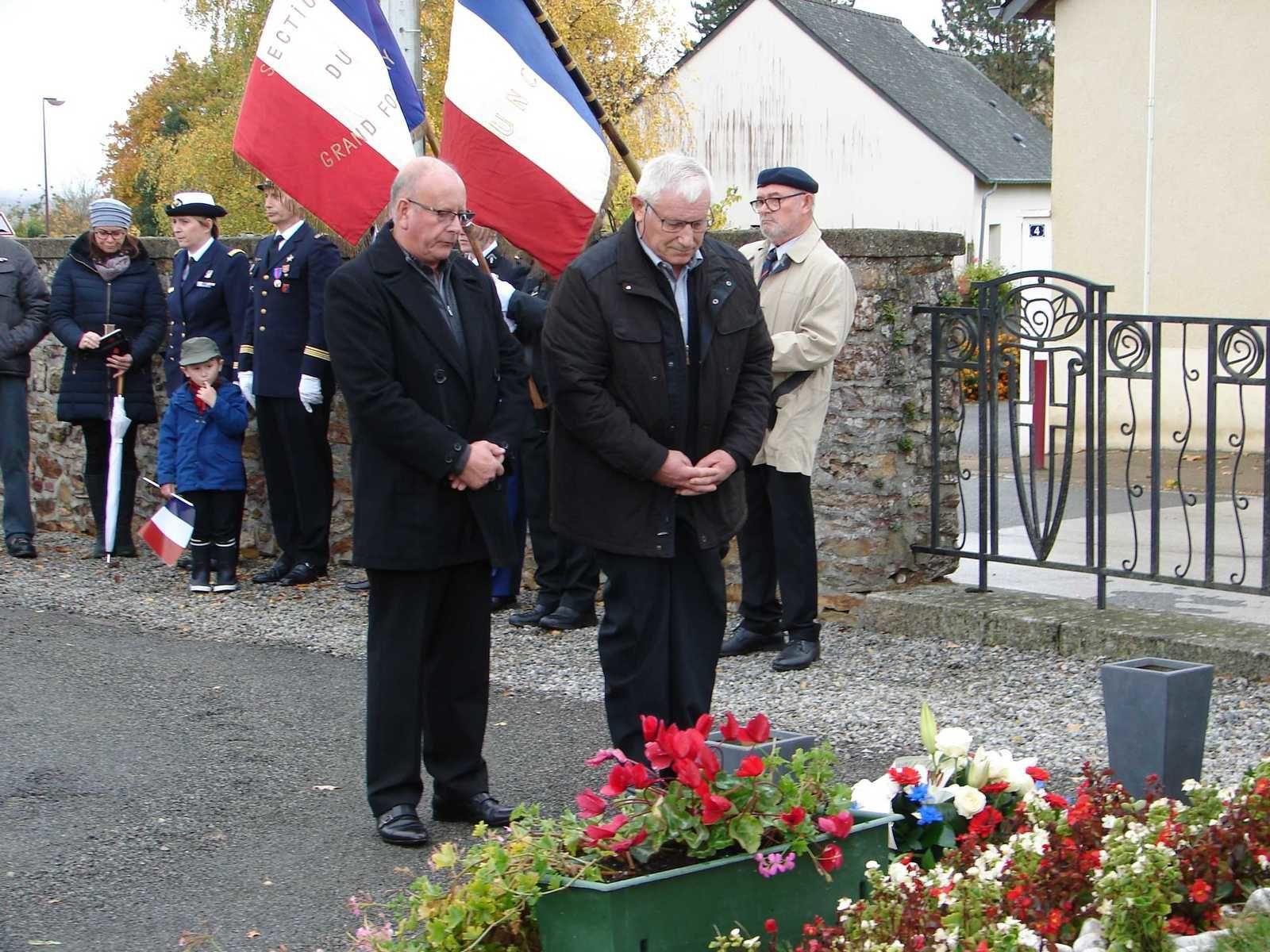 Le 11 novembre au Grand-Fougeray