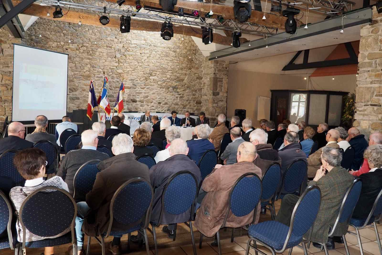 Assemblée Générale de l'UNC de SAINT MALO le 10 Février 2019