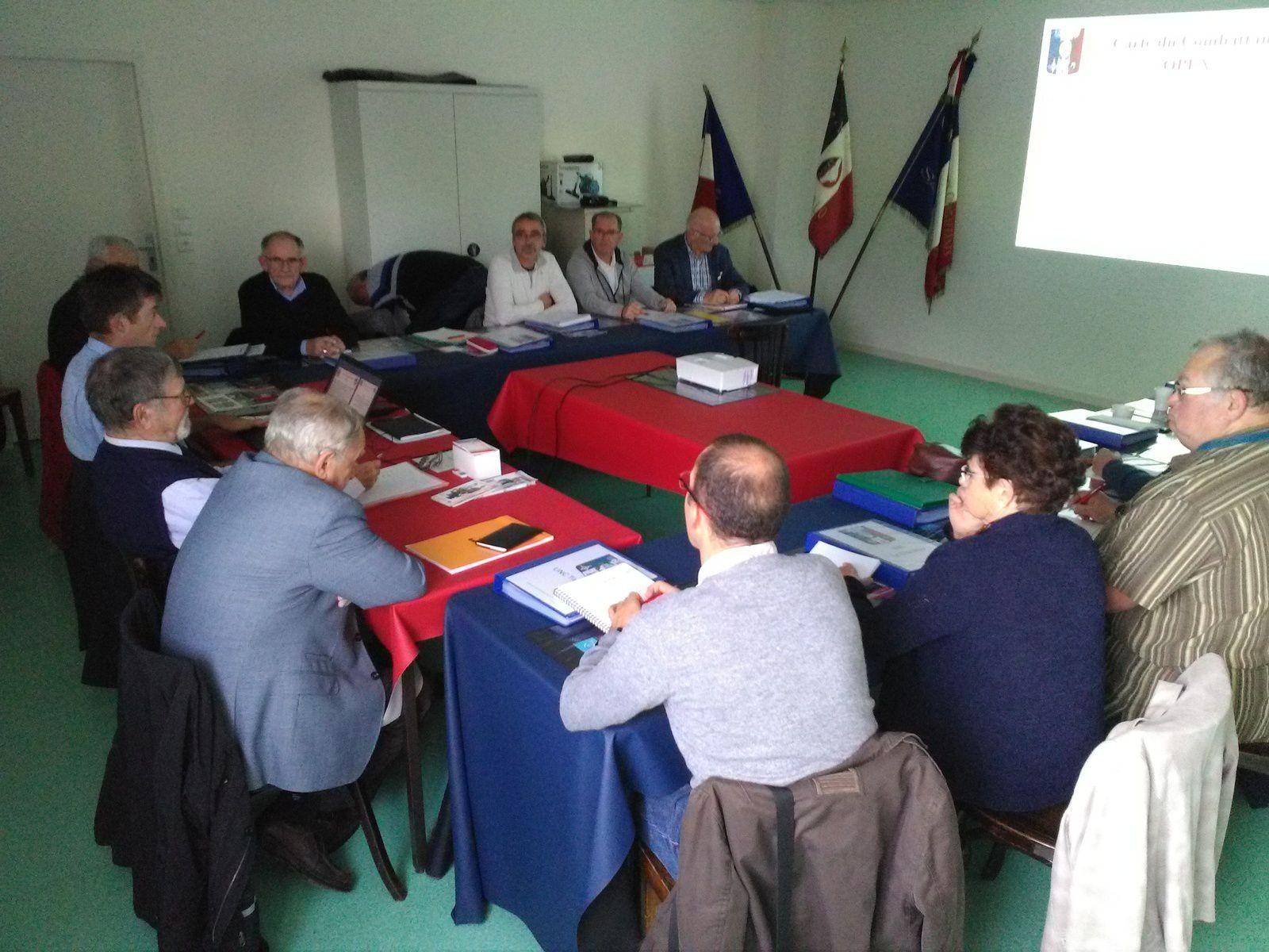 La 1ère session de formation des nouveaux présidents des UNC locales...