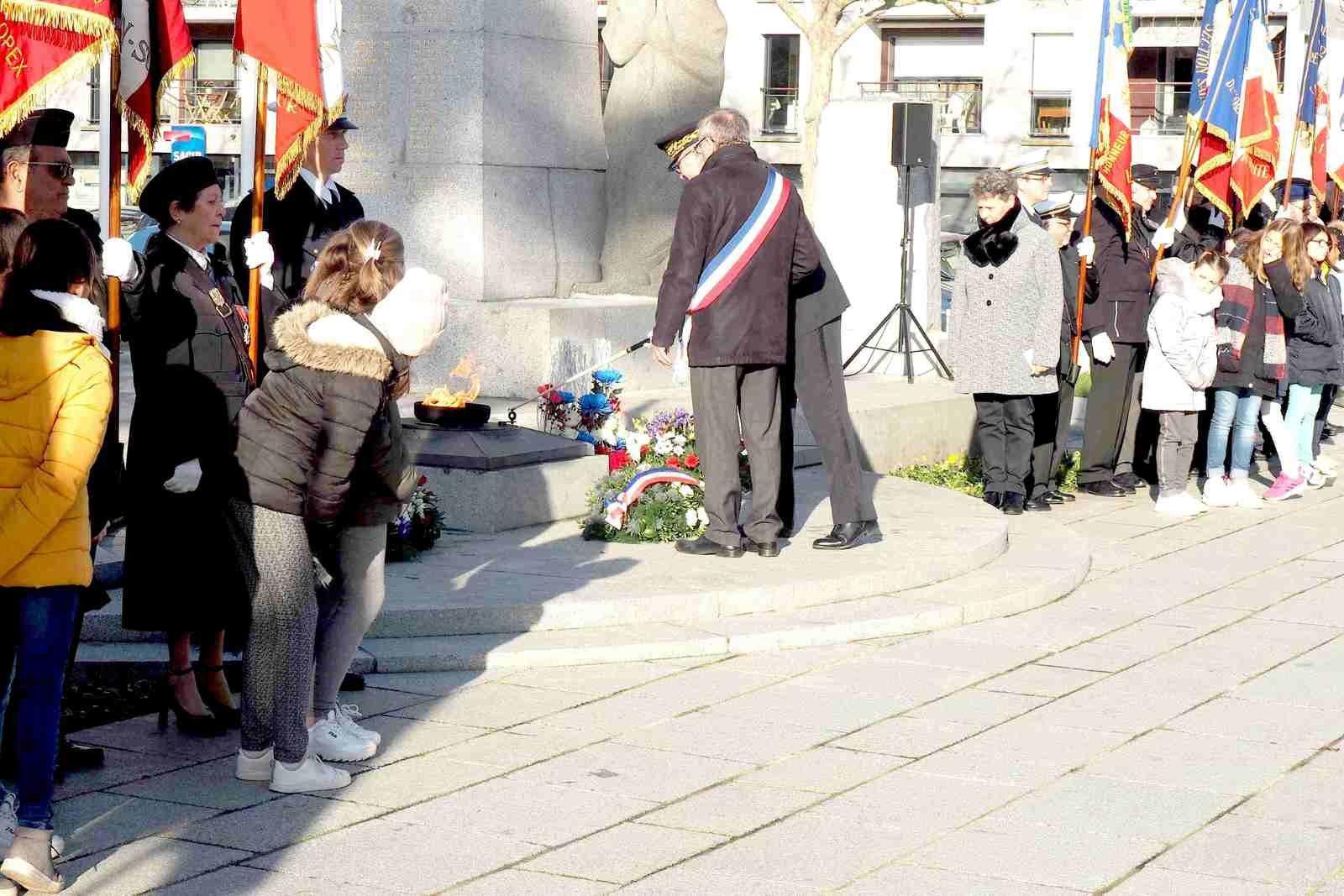 Messe et cérémonie du 05 décembre à St Malo