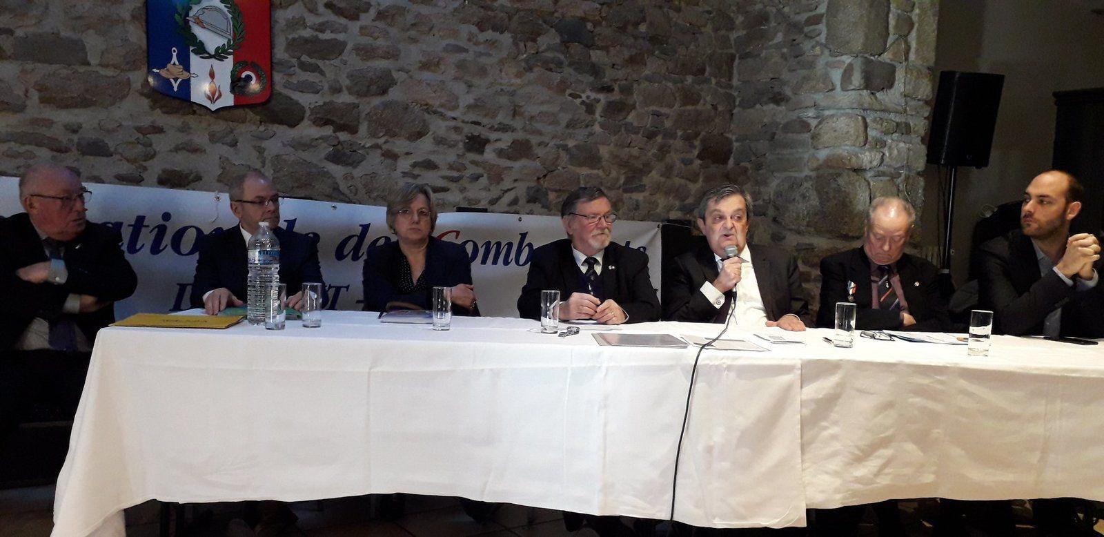 Assemblée Générale Statutaire de la section UNC de St Malo le 19 janvier 2020 (Les Mauriers, Saint Malo)