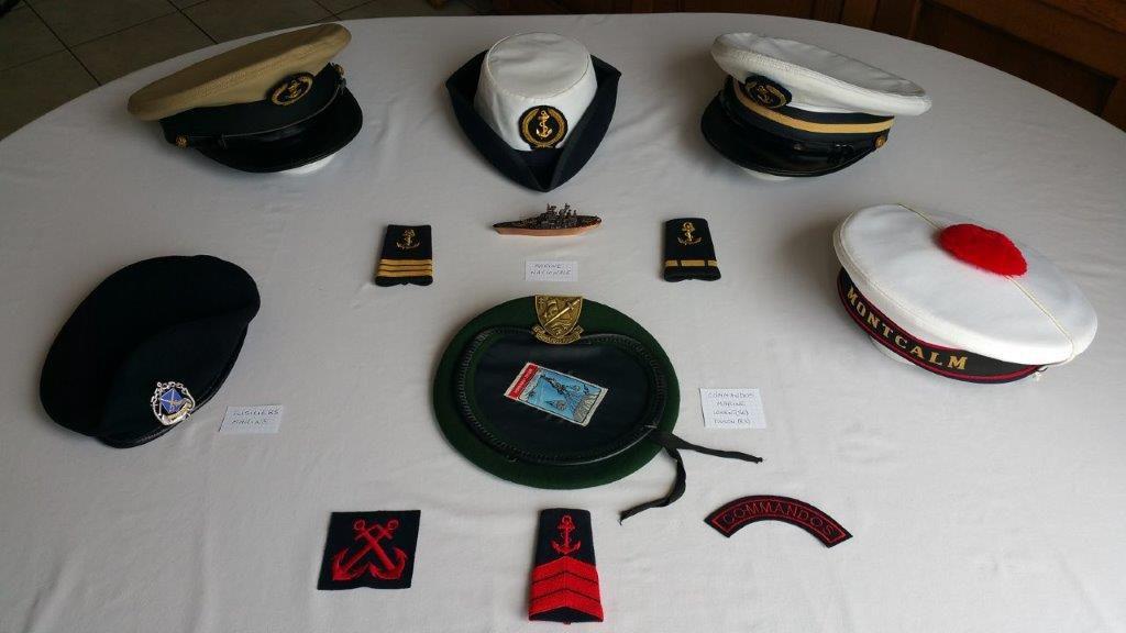 «Coiffes militaires» à l'occasion de la commémoration du 75ème anniversaire du 8 mai 1945.