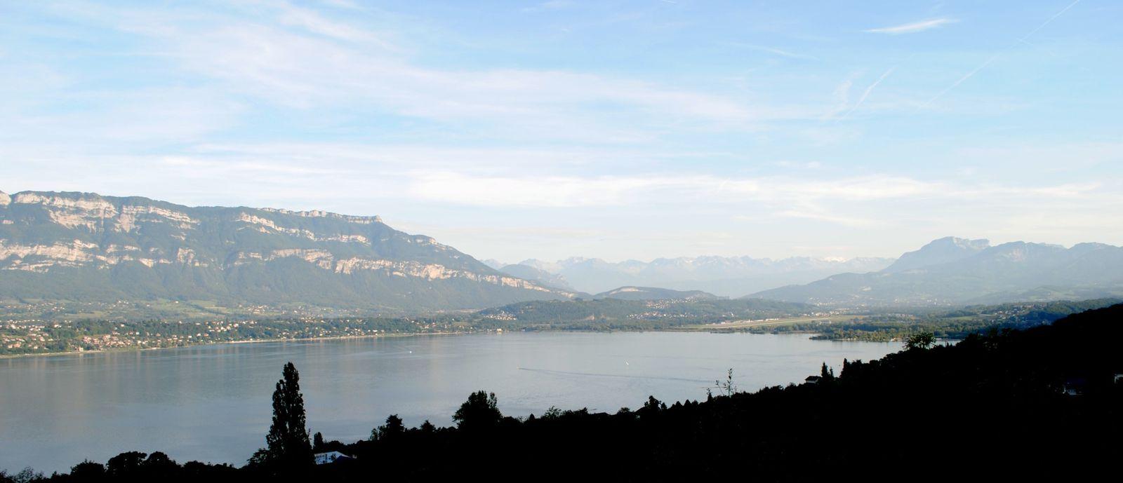 Panorama du lac du Bourget - Savoie © Levaillant 2013