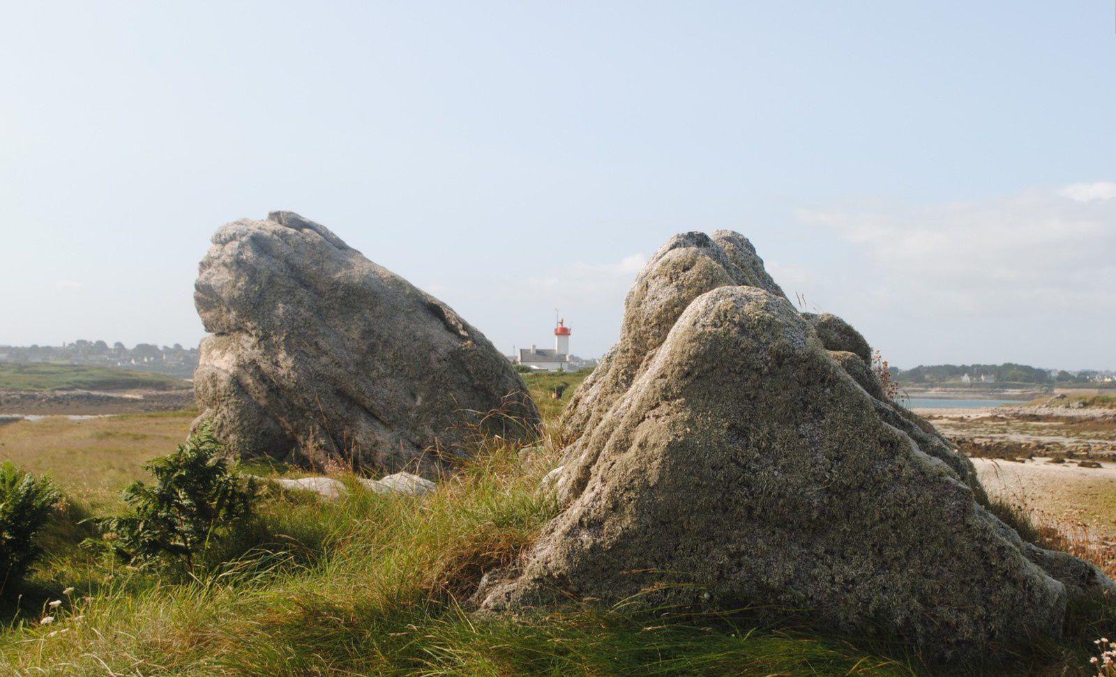 Le phare de l'île Wrac'h