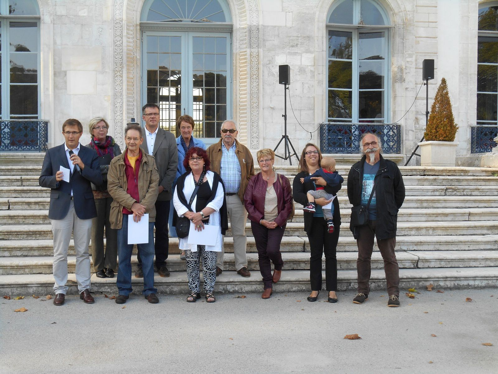 avec les organisateurs et les élus du territoire Caux Vallée de Seine et Caux Estuaire