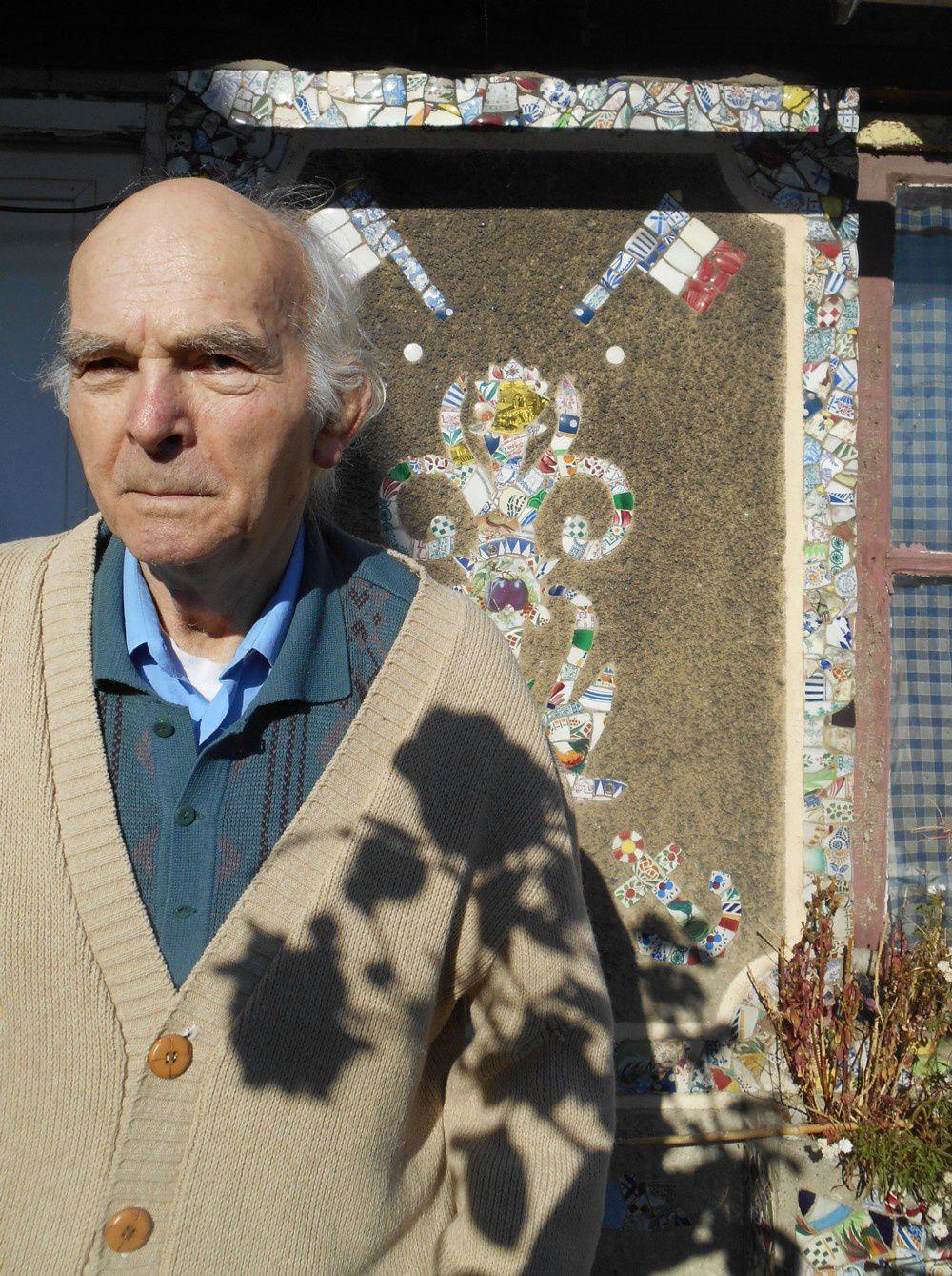 M. Michel Crépin, propriétaire depuis 1972 de la Villa Mon DESIR