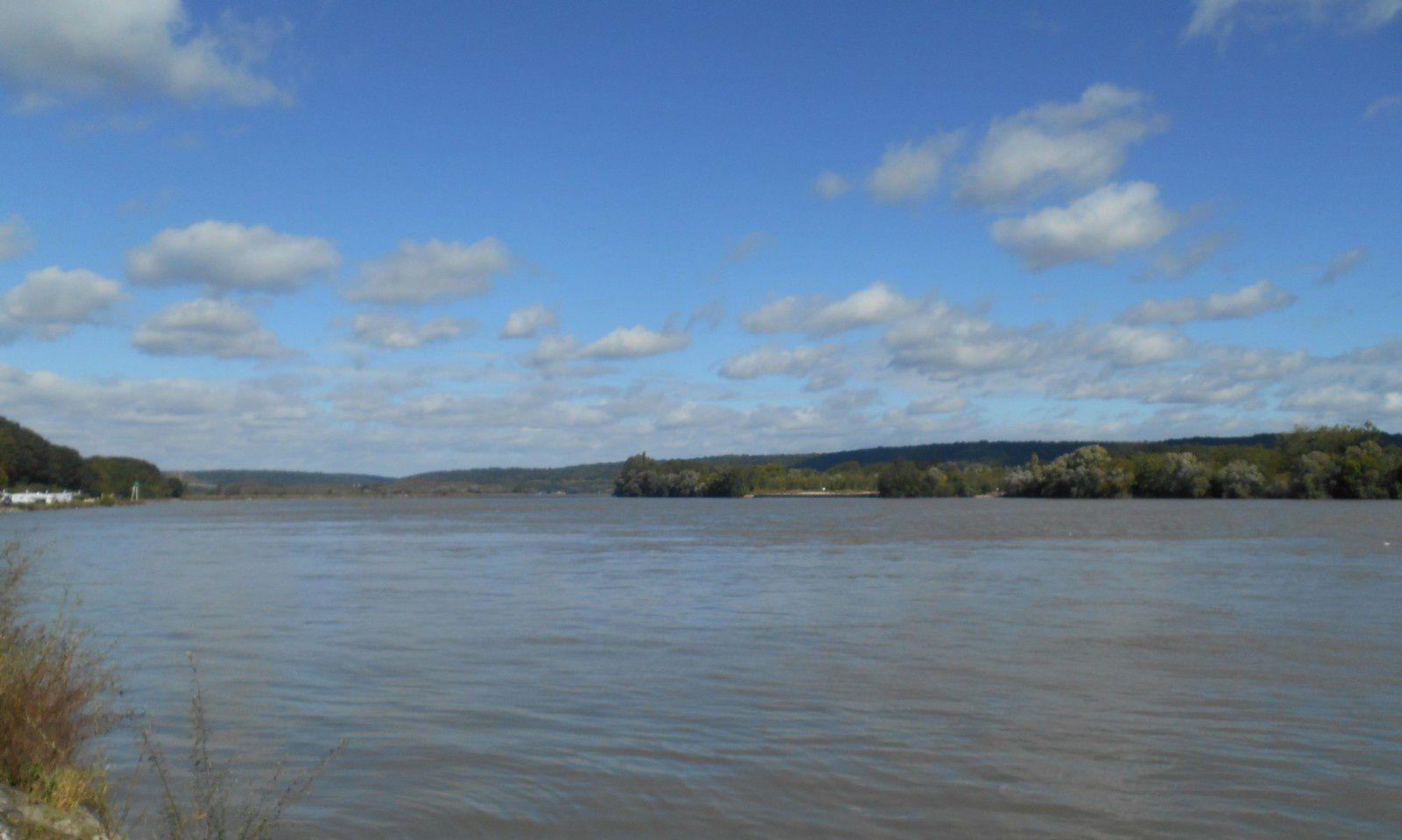 avant le pont de Brotonne à Arelaune-en-Seine existait un passage d'eau le reliant au Trait