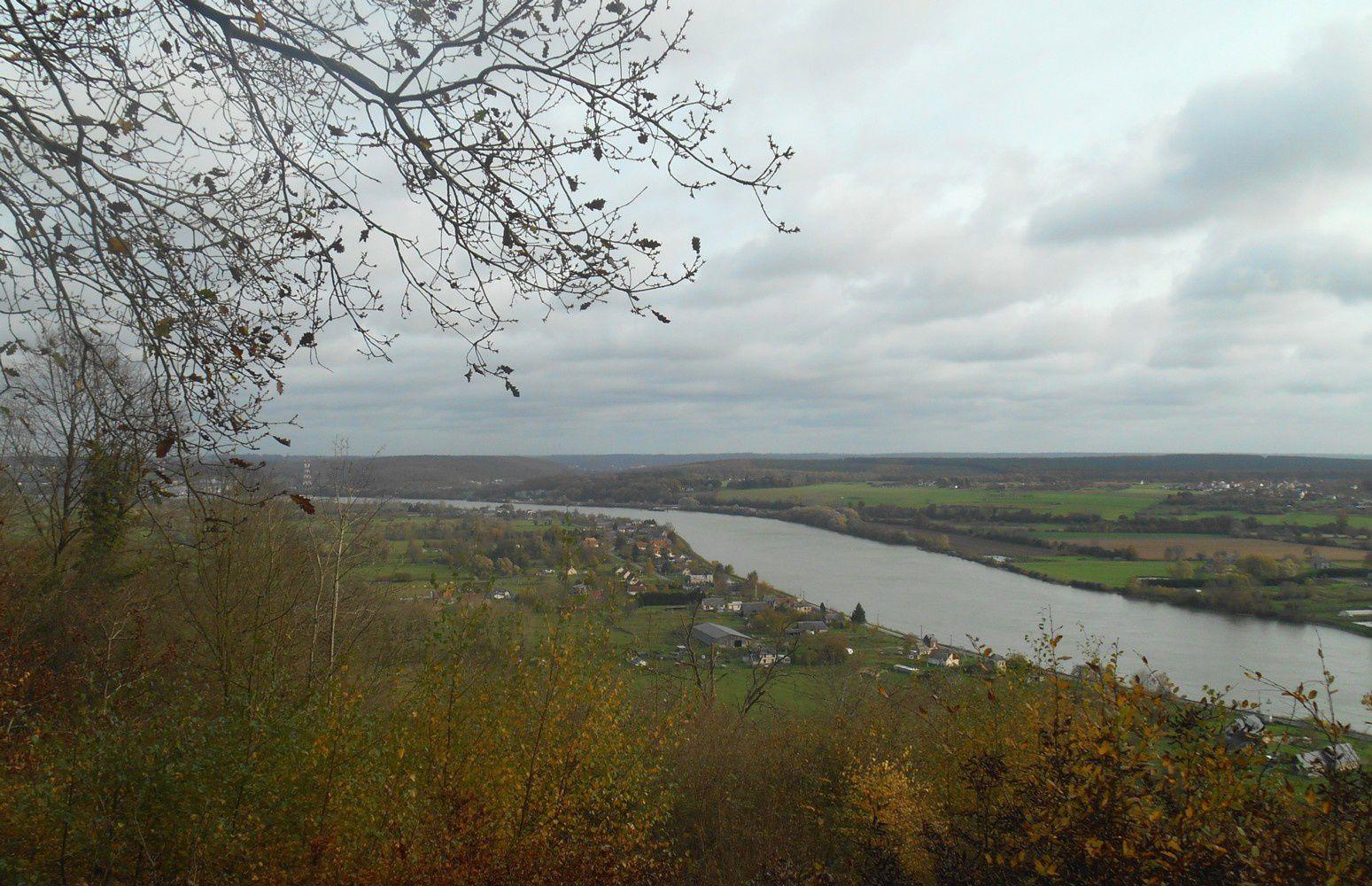 du Landin, la Seine