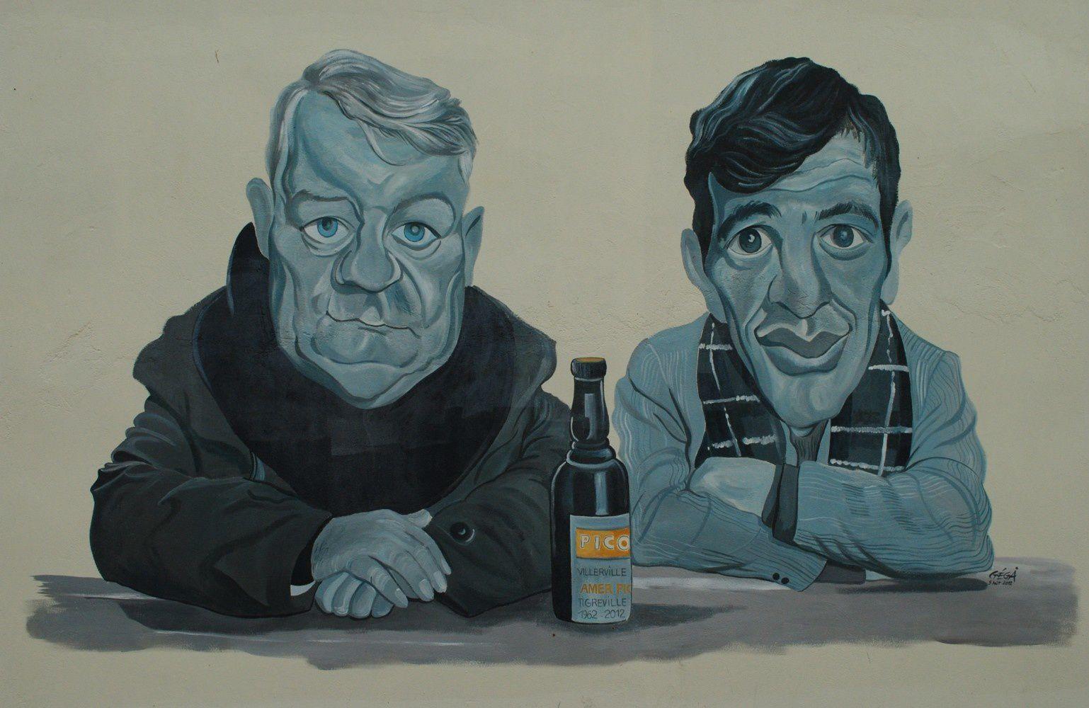 Gabin et Belmondo