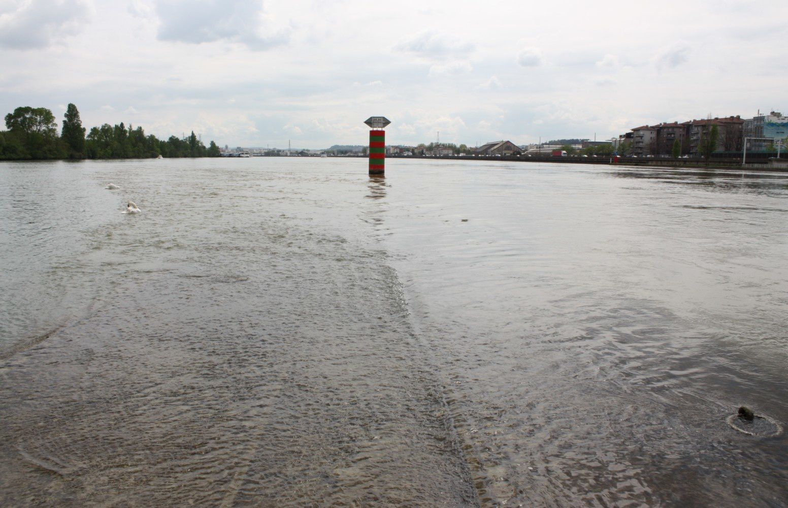 la confluence à Lyon