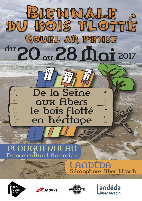 Pascal Levaillant à la 2ème Biennale d'Art du Bois Flotté 2017 à Plouguerneau et Landéda du 20 au 28 mai 2017 - Finistère - Bretagne