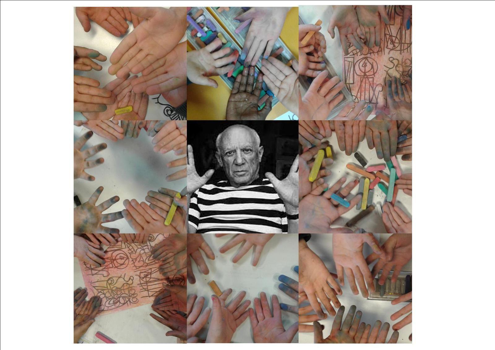 Picasso  vu par Pascal Levaillant 2016-2017