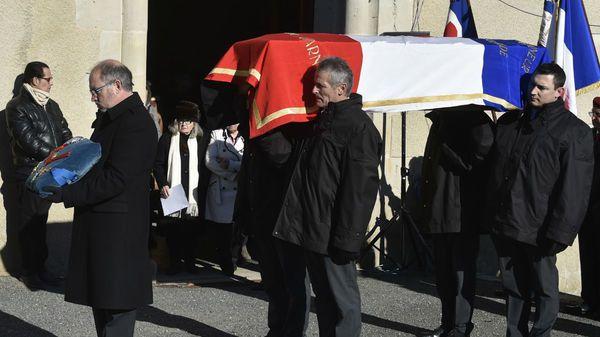 Funérailles de Georges Pretre dans la petite église de Naves Le chef et Maria Callas , et à Vienne